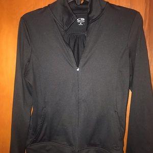 Champion Black Zip Up Performance Jacket